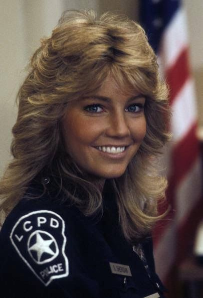 heather locklear as stacy sheridan on the early 80s show