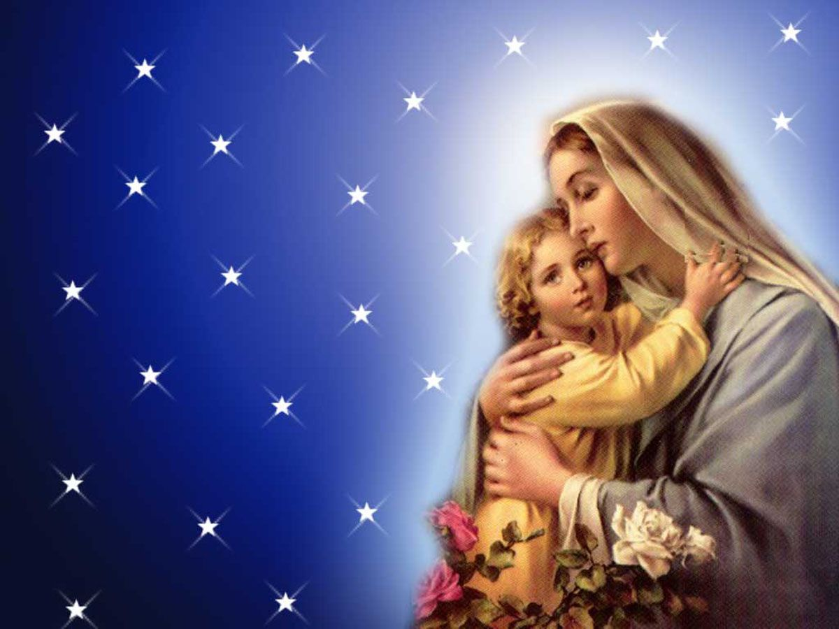 Mother Mary Wallpapers Free Christian 1200x900 Virgin 32