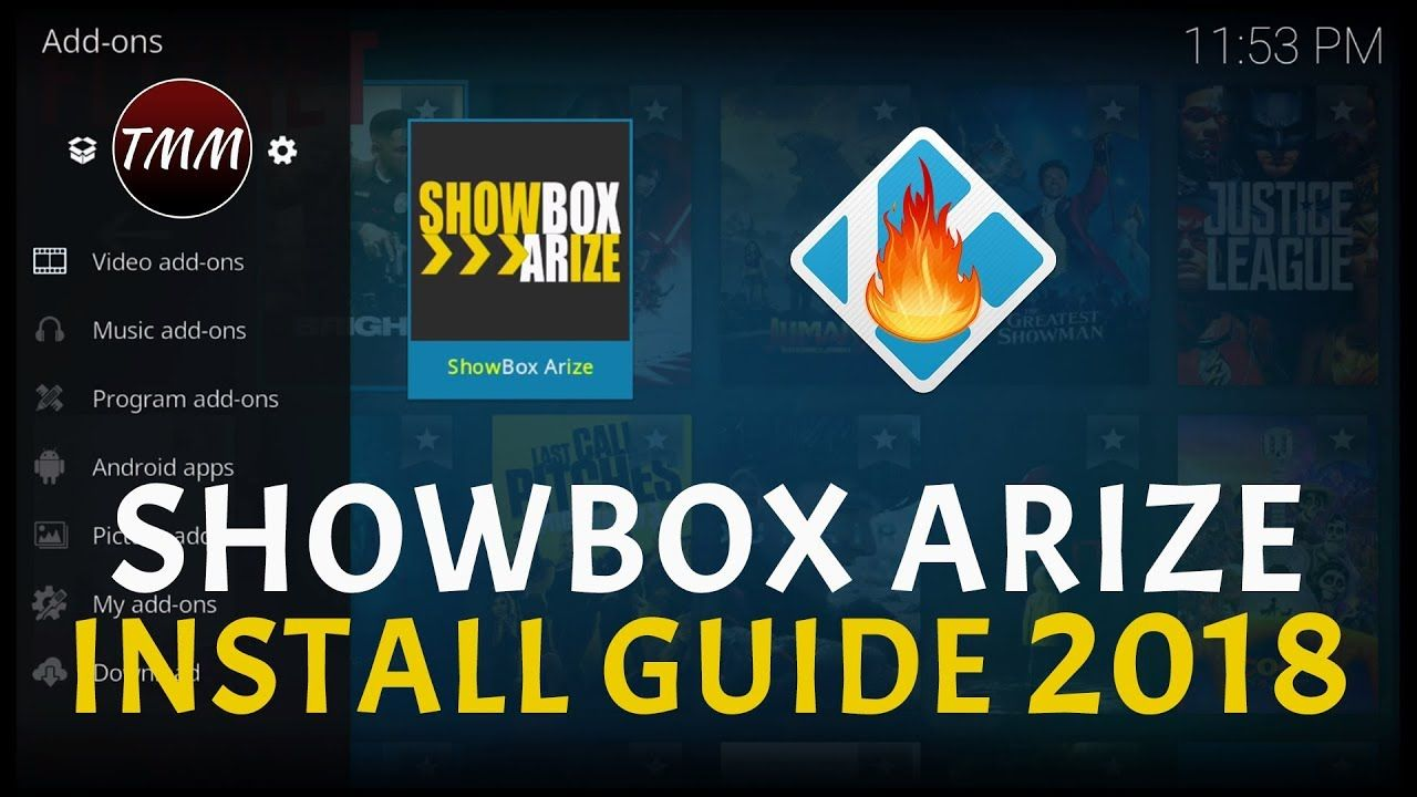 SHOWBOX ARIZE KODI ADDON INSTALL GUIDE AWESOME ADDON ALL DEVICES