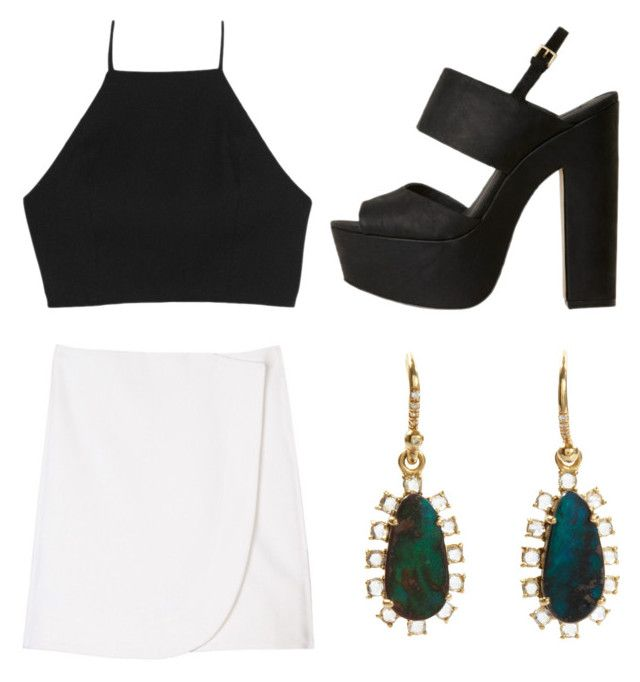 """""""Electric Circus"""" by katplaxi ❤ liked on Polyvore featuring rag & bone, TIBI and Irene Neuwirth"""
