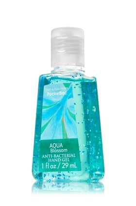 Aqua Blossom Pocketbac Sanitizing Hand Gel Anti Bacterial Bath