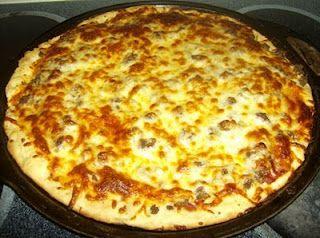 My famous homemade hamburger pizza recipe. -   23 hamburger pizza recipes ideas