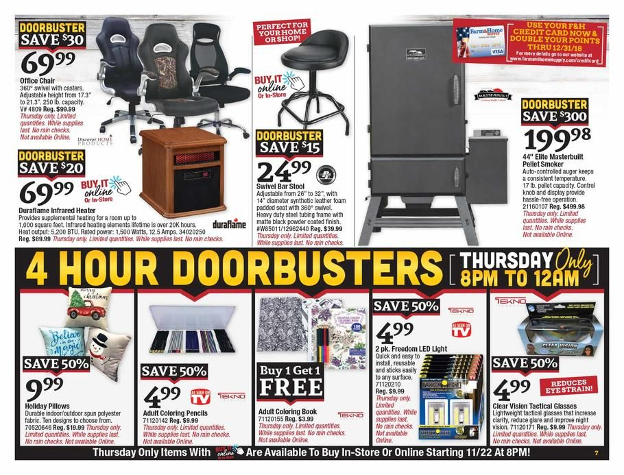 Farm Home Supply Thanksgiving 2018 Ads And Deals