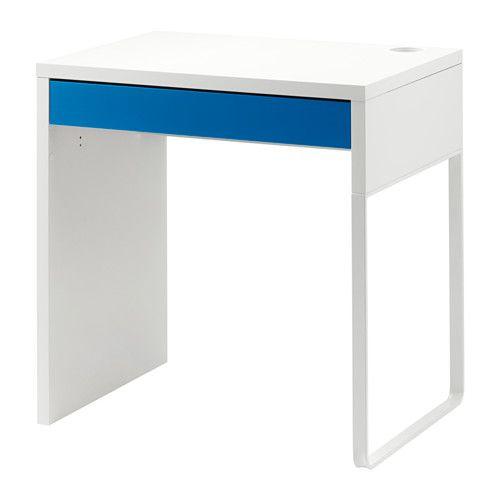 Ikea Micke Bureau.Micke Bureau Wit Blauw Ikea Ikea Hacks Micke Desk