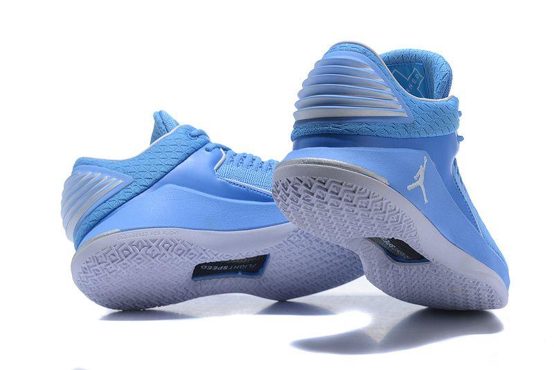 5f510bbb354 2018 March Sale Cheap Air Jordan 32 Low North Carolina Blue Basketball Shoe
