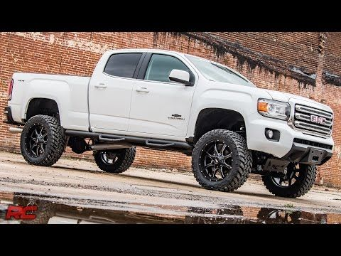 6in Suspension Lift Kit For 2017 4wd Chevy Colorado Gmc Canyon Pickups Rough Country Systems