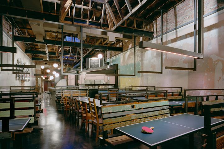 COMET Ping Pong Pizza Restaurant Bar By Core Architecture Washington DC