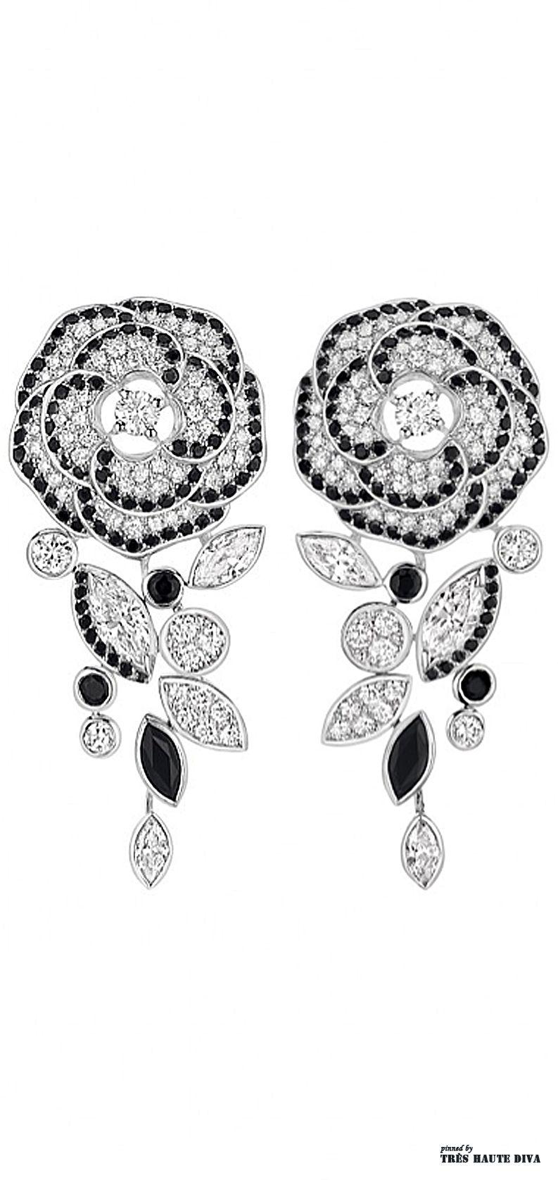 1579f58d4 Camelia Ganse Flower Earrings. Camelia Ganse Flower Earrings Chanel Jewelry  ...