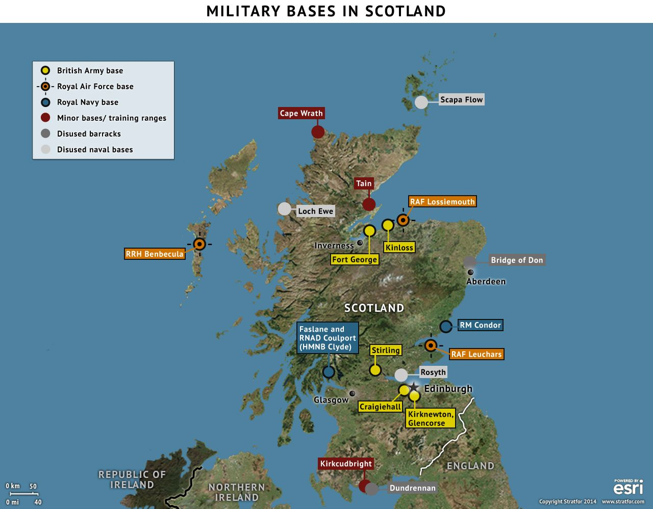 Military Bases In Scotland Httpinfostratforcomptlg - Us military bases in africa map