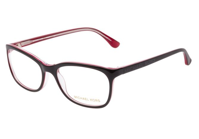 bbdf650a66e8e  69.99   Costco (Style   898061 FWP 52 ) - Michael Kors Glasses   Michael  Kors MK247 021 Black Red - Coastal.com®