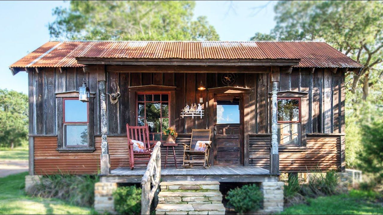 The Cowboy Cabin By Tiny Texas Houses Beautiful Small House Design Tiny Texas Houses Small House House Exterior