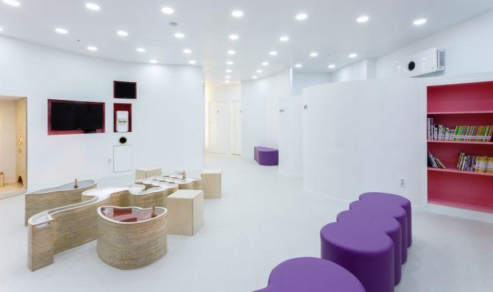 Moon Pediatric Clinic by maum studio, Geumgokri Korea