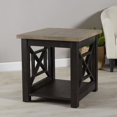 Darby Home Co Upton Cheyney Side Table Table Mirrored Side