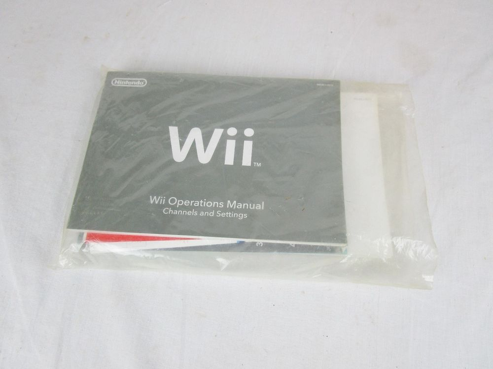 pre owned nintendo wii operations manual system setup guide rh pinterest com Wii Operations Manual System Setup Wii Operations Manual System Setup