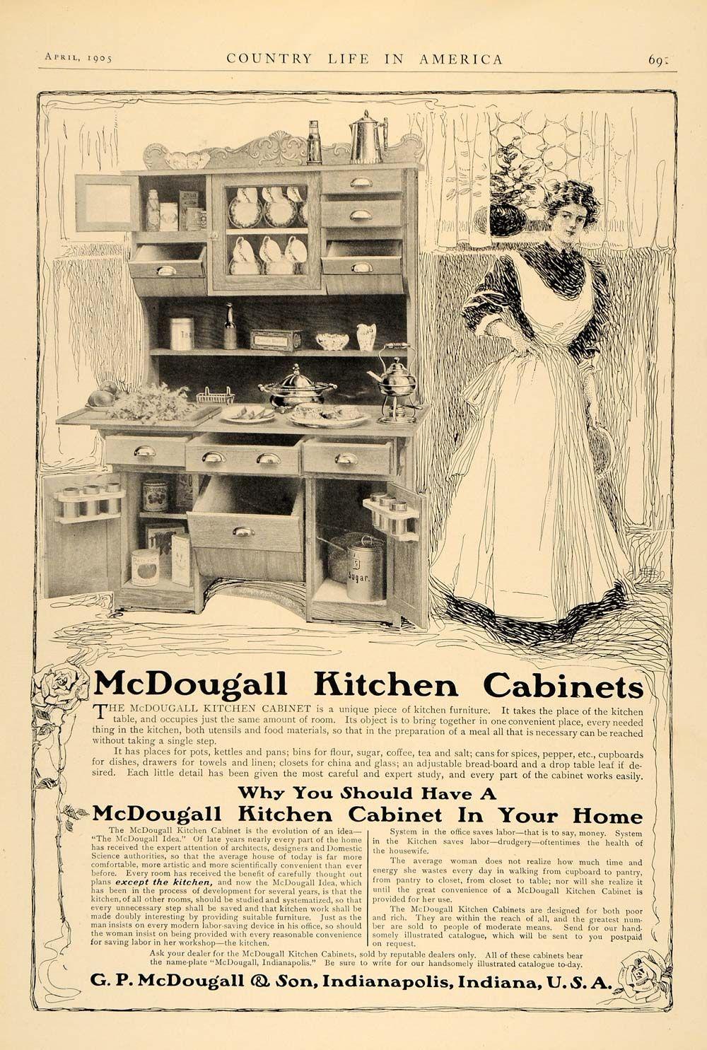 Sunday Adverts G P Mcdougall Son Kitchen Cabinets Hoosier Cabinet Kitchen Cabinets Antique Hoosier Cabinet