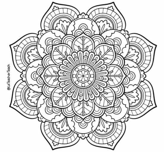 Pin de nuria serrat en mandalas   Pinterest   Mandalas, Diseños de ...