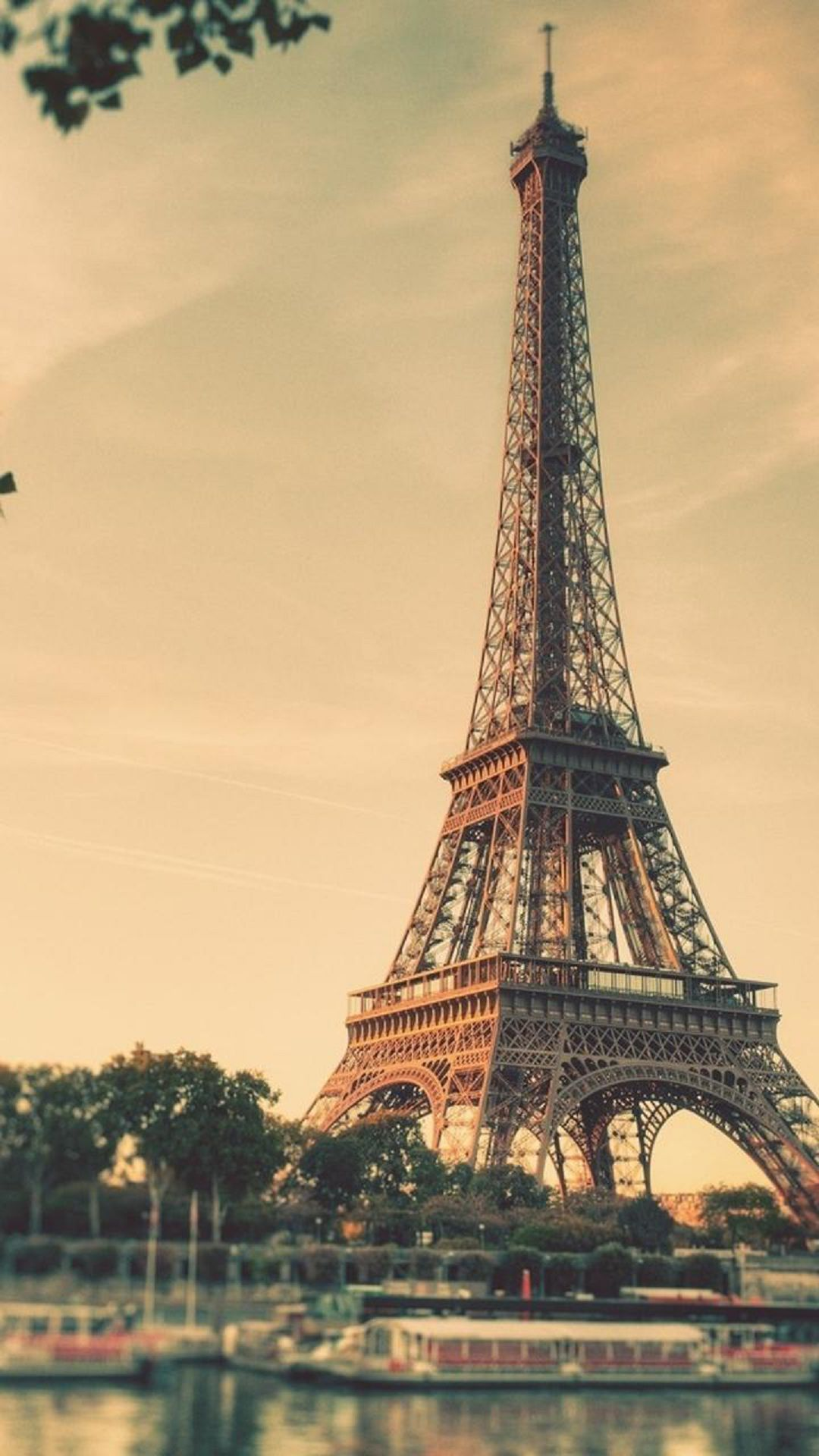 Shabby Vintage Romantic And Hippie Chic Eiffel Tower