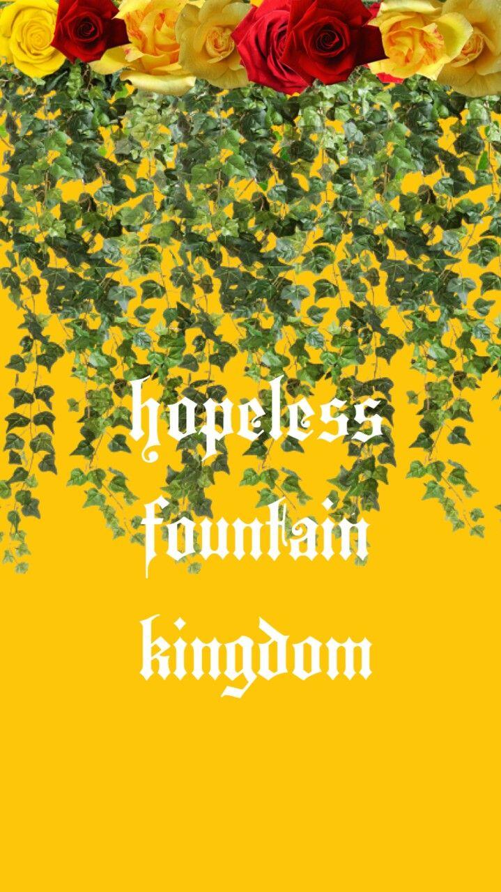 Halsey Fountain Kingdom Iphone Hopeless Wallpaper