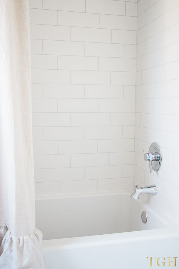 Simple Design Tips for All White Bathrooms - The Greenspring Home