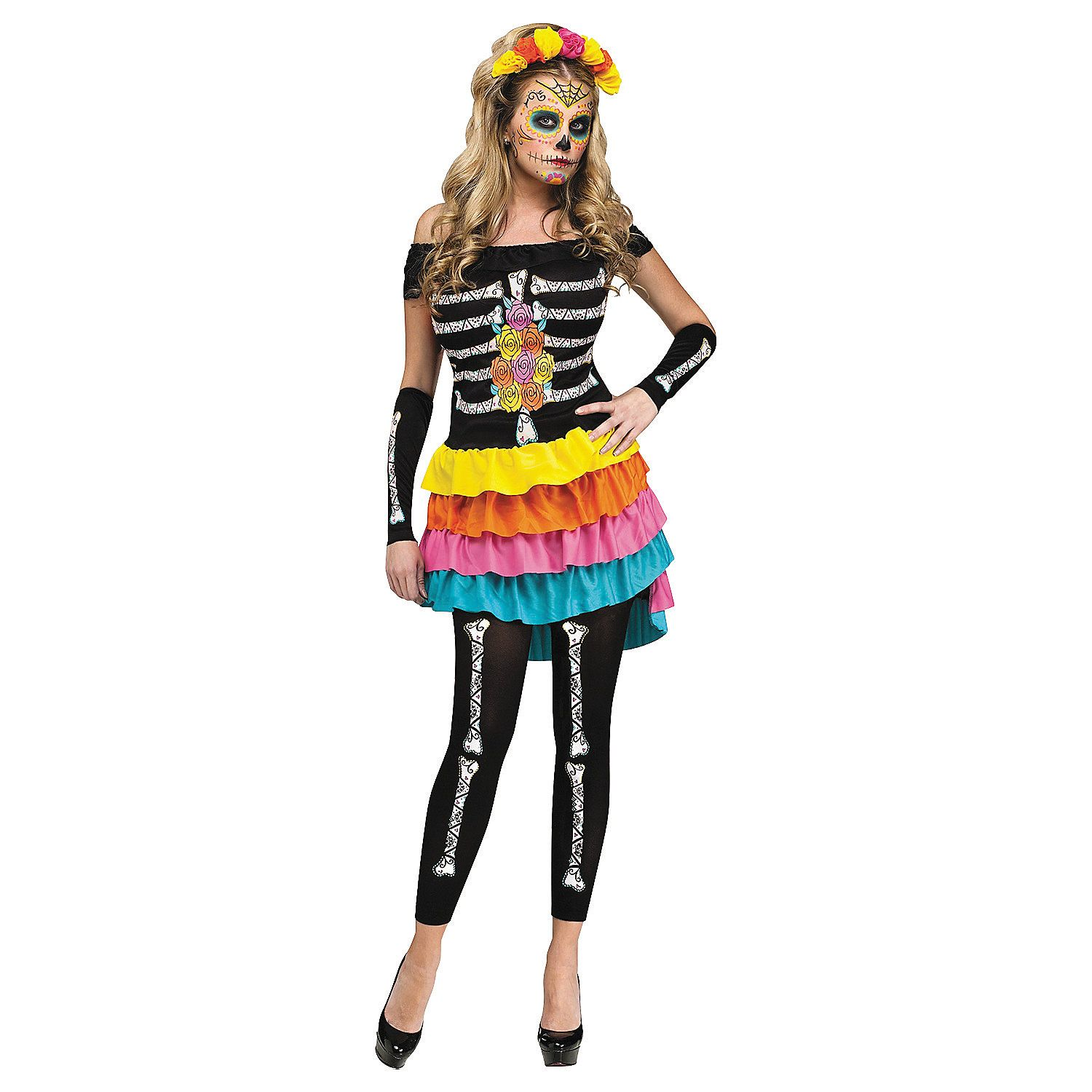 9edd1eb559681 Women's Day of the Dead Costume | Halloween Costumes | Costumes for ...