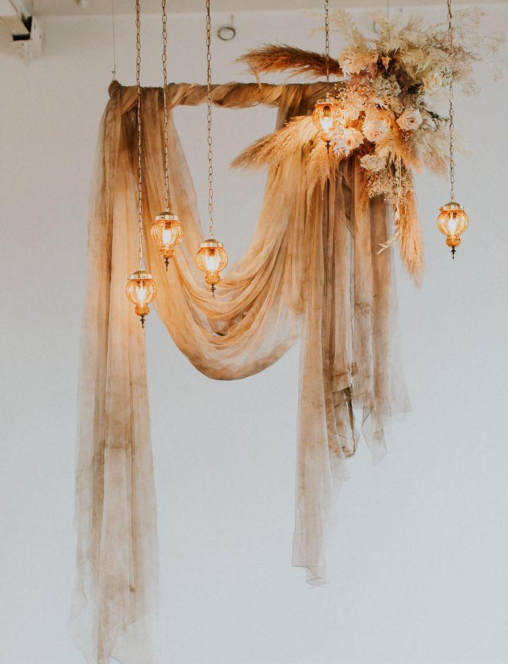 Traubogen | Wedding Backdrop | Fotohintergrund | Hochzeitsdekoration – wundervolle Hängedekoration f