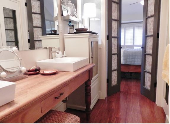 Bathroom Door Frustration And Solution Turn Bi Fold Doors Into