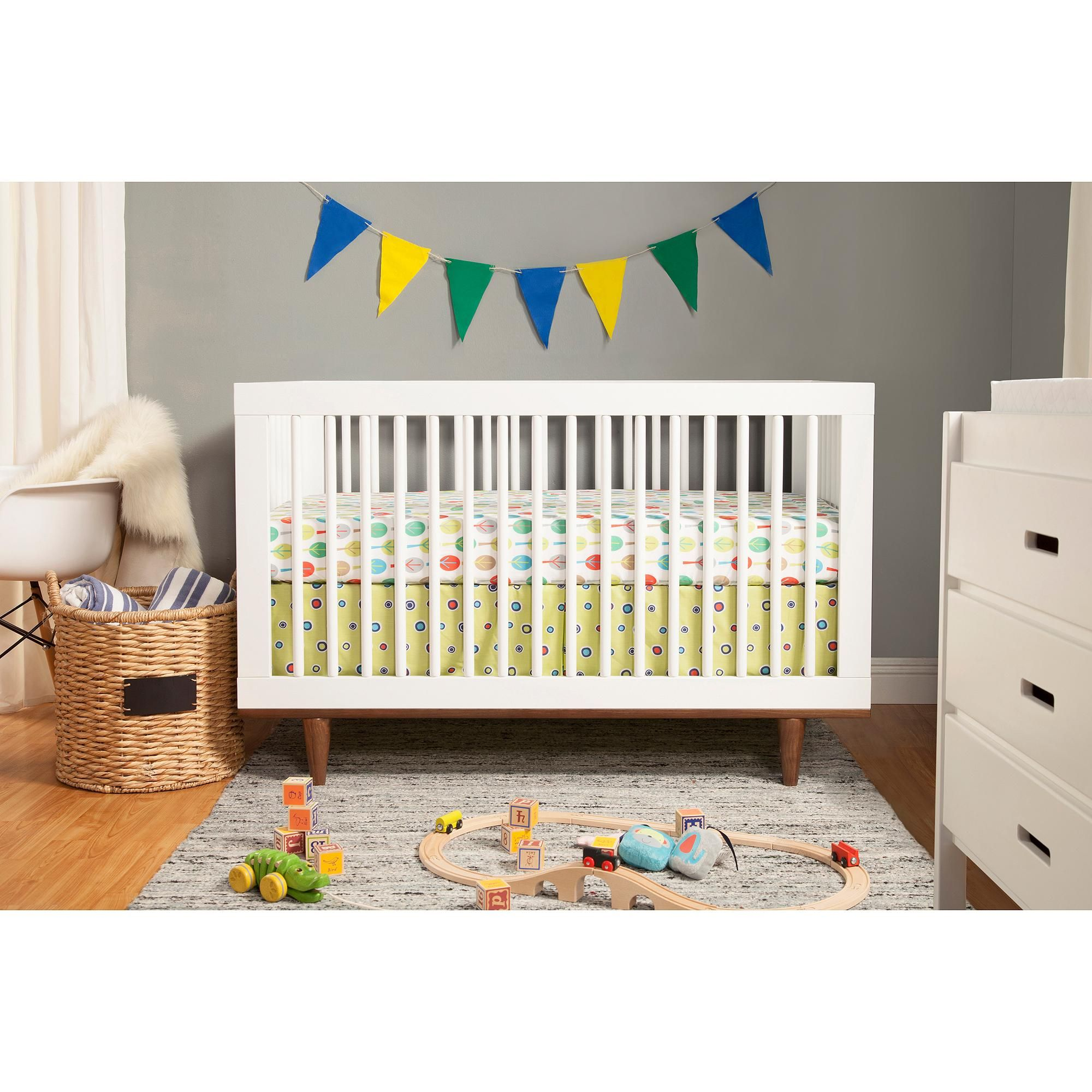 Baby Mod Marley 3-in-1 Convertible Crib, Choose Your Finish - Walmart.com