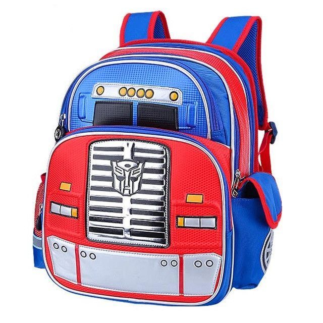 2017 New 3D Robot Students School Bags Waterproof Cartoon Backpacks Boy s  School Backpack Satchel Mochila Girls Schoolbags 4b7f22355227d