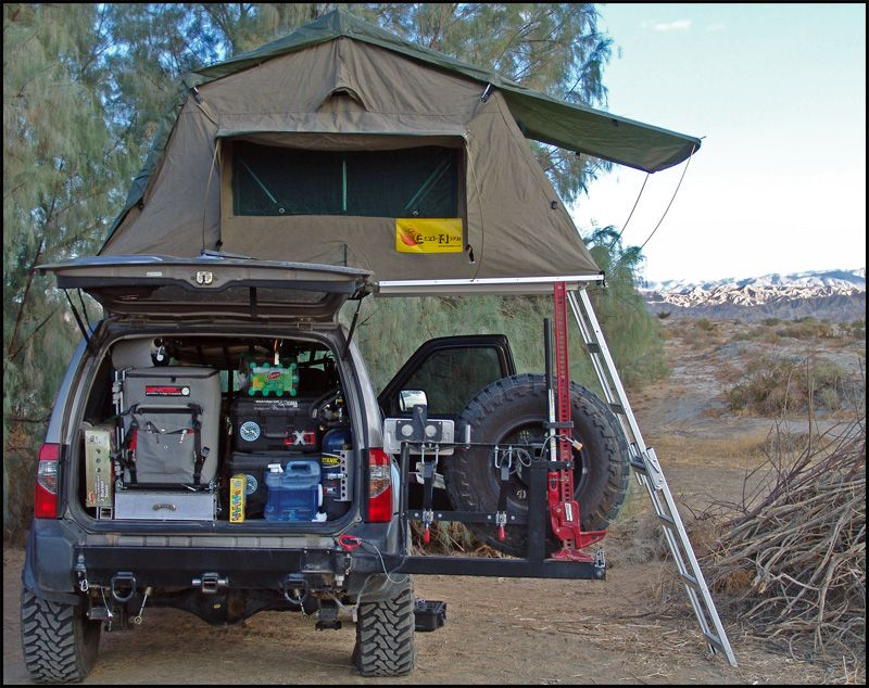 Expeditionxterra Build Up Page 2 Expedition Portal Truck Camping Tent Outdoor