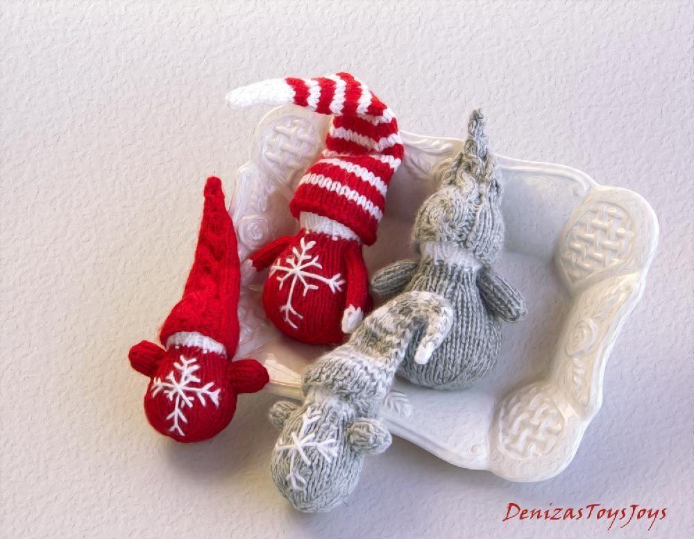 Waldorf Christmas Gnomes Knitting Patterns Christmas Gnome