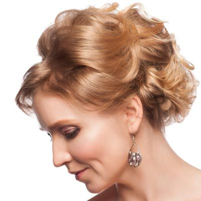 Mother Of The Bride Hairstyles Partial Updo | Mother-of-the-Bride ...