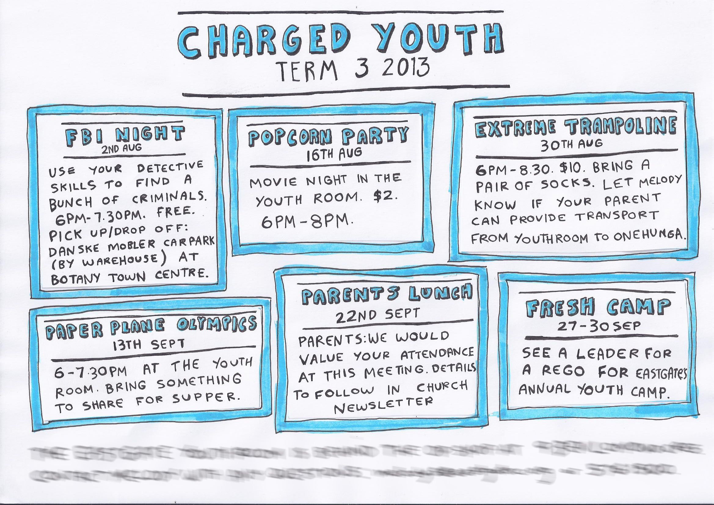 Fun Youth Group Events. Intermediates, Junior High, Middle School.