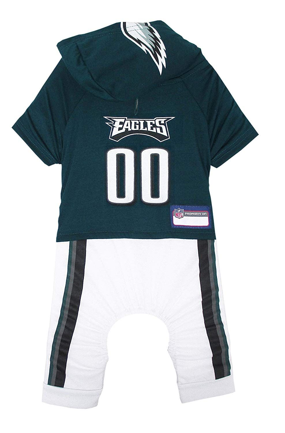 reputable site dccef 86b45 NFL Philadelphia Eagles Pet Onesie, Small ** See this great ...