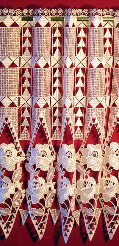 German Macrame Lace Curtains Sabrina