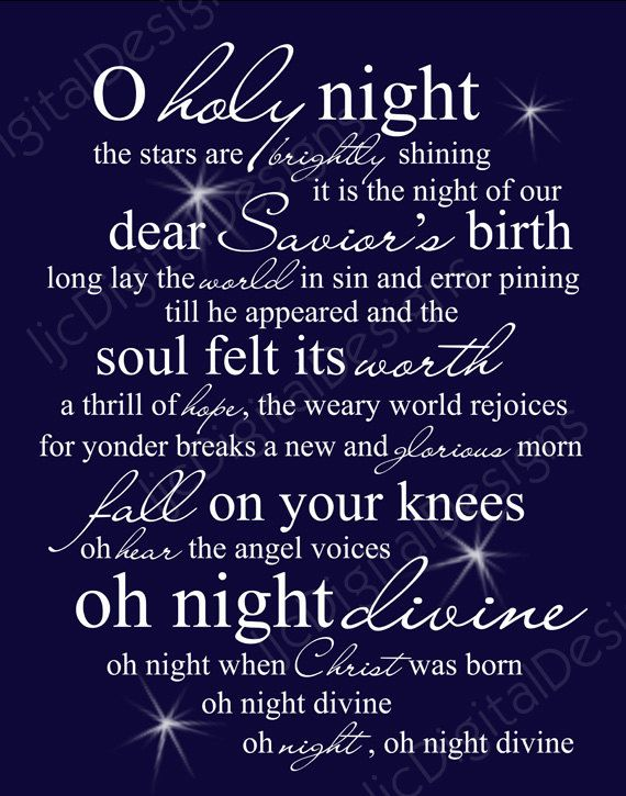 O holy night christmas word art lyrics printable digital typography o holy night christmas word art lyrics printable digital typography decoration 11x14 and 8x10 via etsy stopboris Image collections