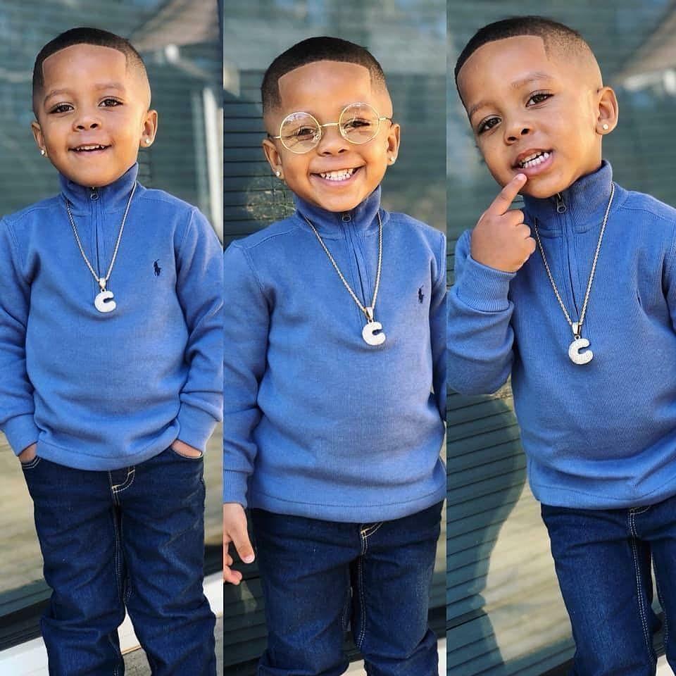 "Black Platinum Kids's Instagram photo: ""💙👑💙{Hello"