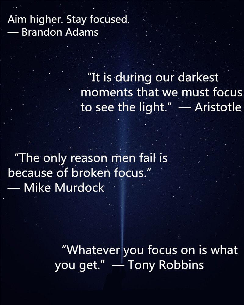 Focus Quotes 215 Super Powerful Stay Focused Quotes