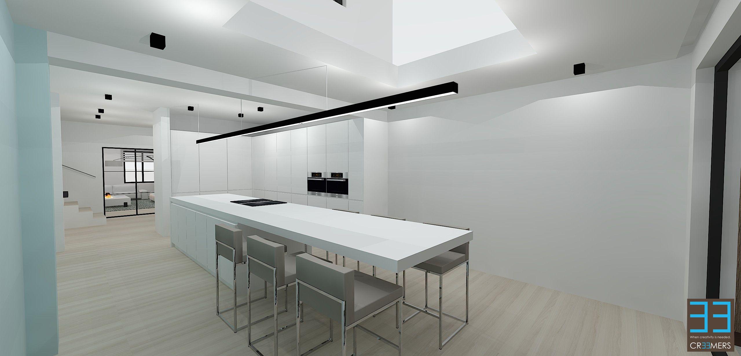 Keukeneiland Verlichting : Interieur Modern | Verlichting ...