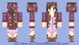 Miѕѕnigntowℓ Plum Night Minecraft Skin Minecraft Skins Character