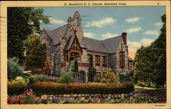 St Benedict S R C Church Stamford Ct Stamford Stamford Connecticut Church
