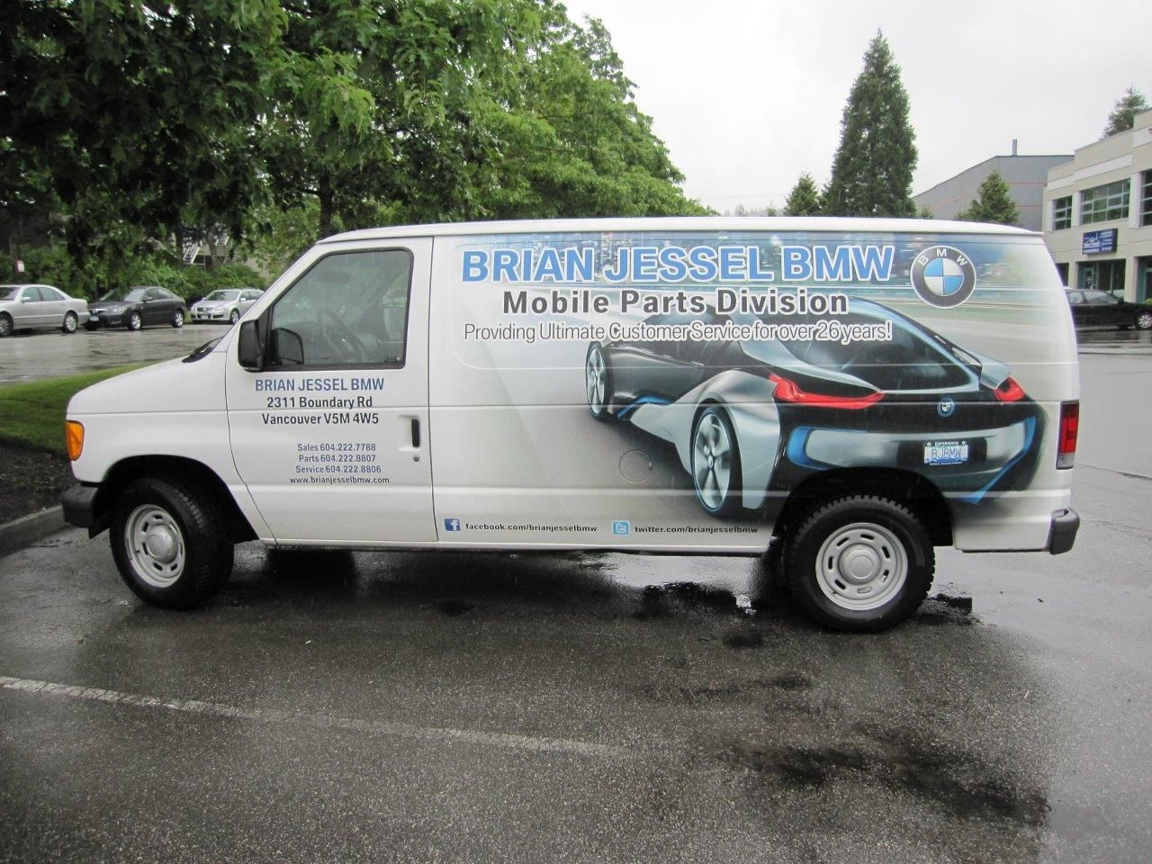 Awesome van wrap done by Speedpro Imaging Coquitlam BC for