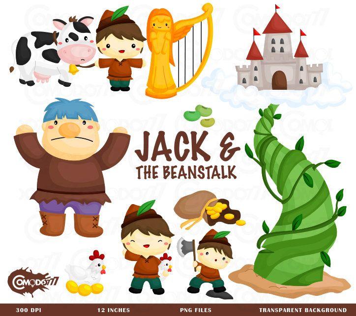 Jack And Beanstalk Clipart Kids Stories Clip Art Cute Stories Clipart Free Svg On Request Clip Art Cute Clipart Digital Clip Art