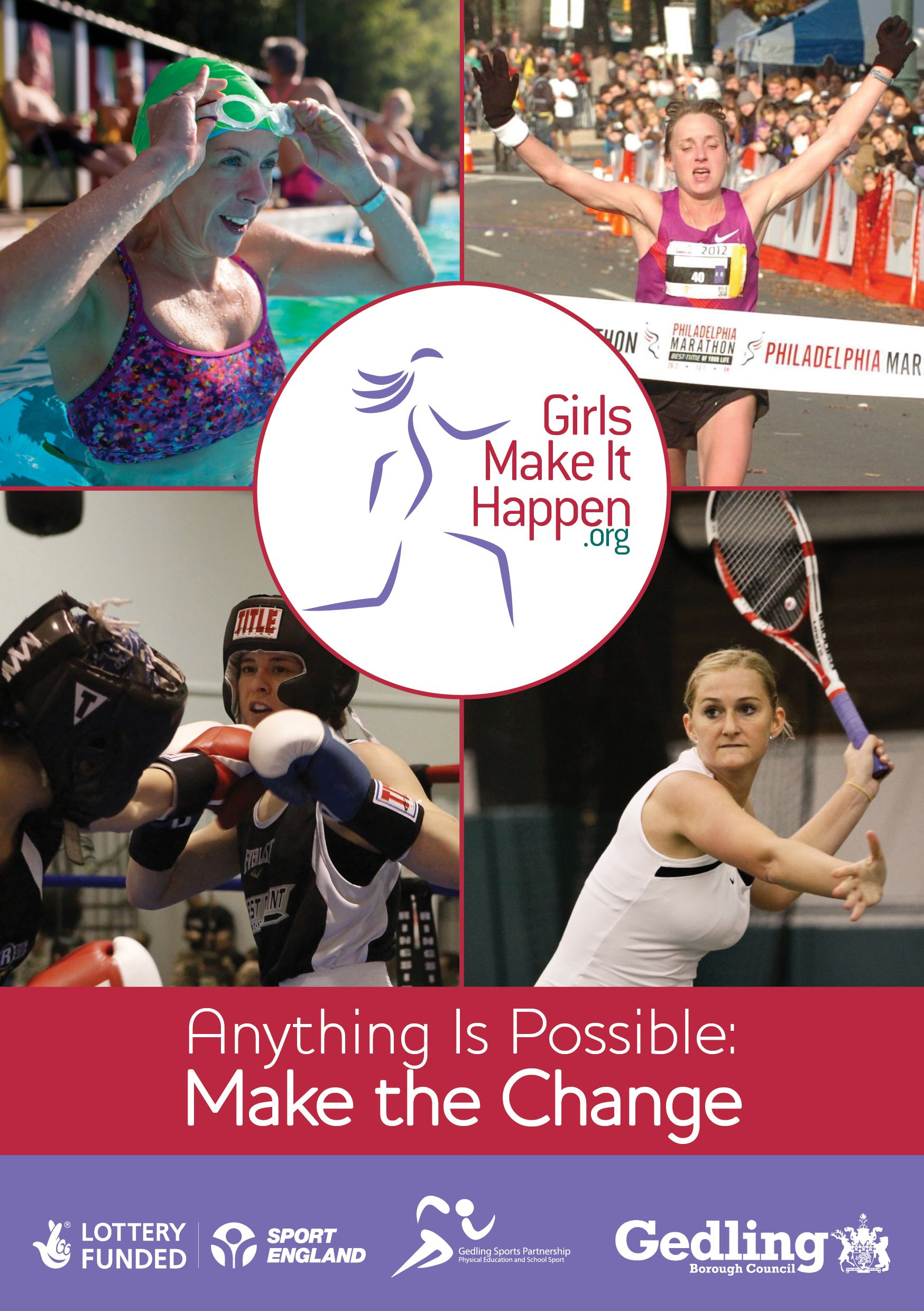 girls make it happen flyer part of the new gmih campaign from girls make it happen flyer part of the new gmih campaign from gedling sports