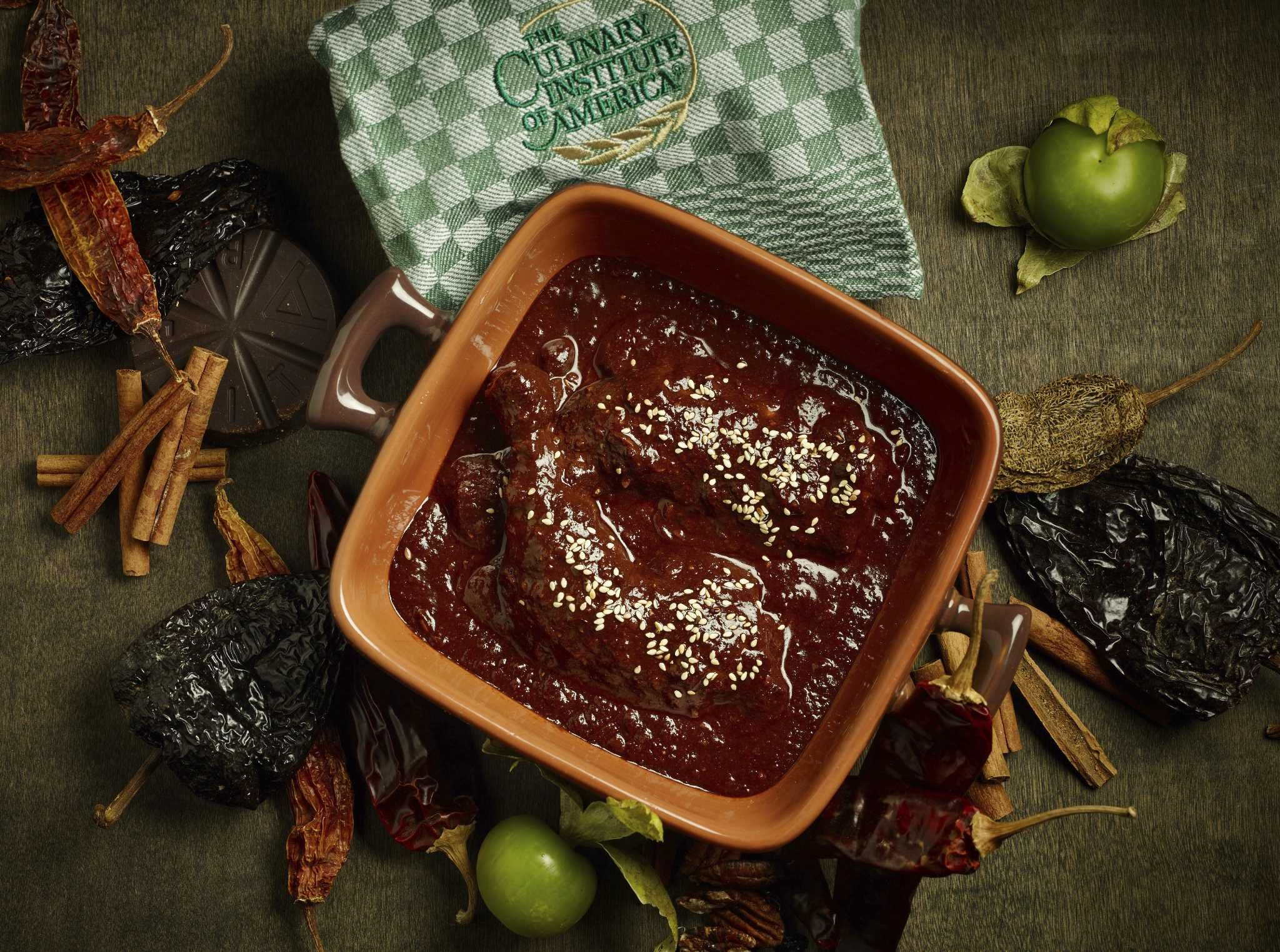 Enliven the day of the dead this year with a rich mole