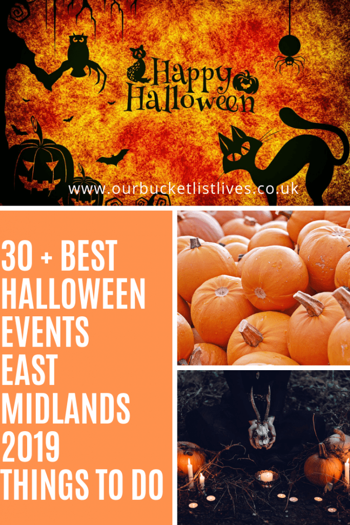 Best Halloween Events East Midlands 2020 Things to do