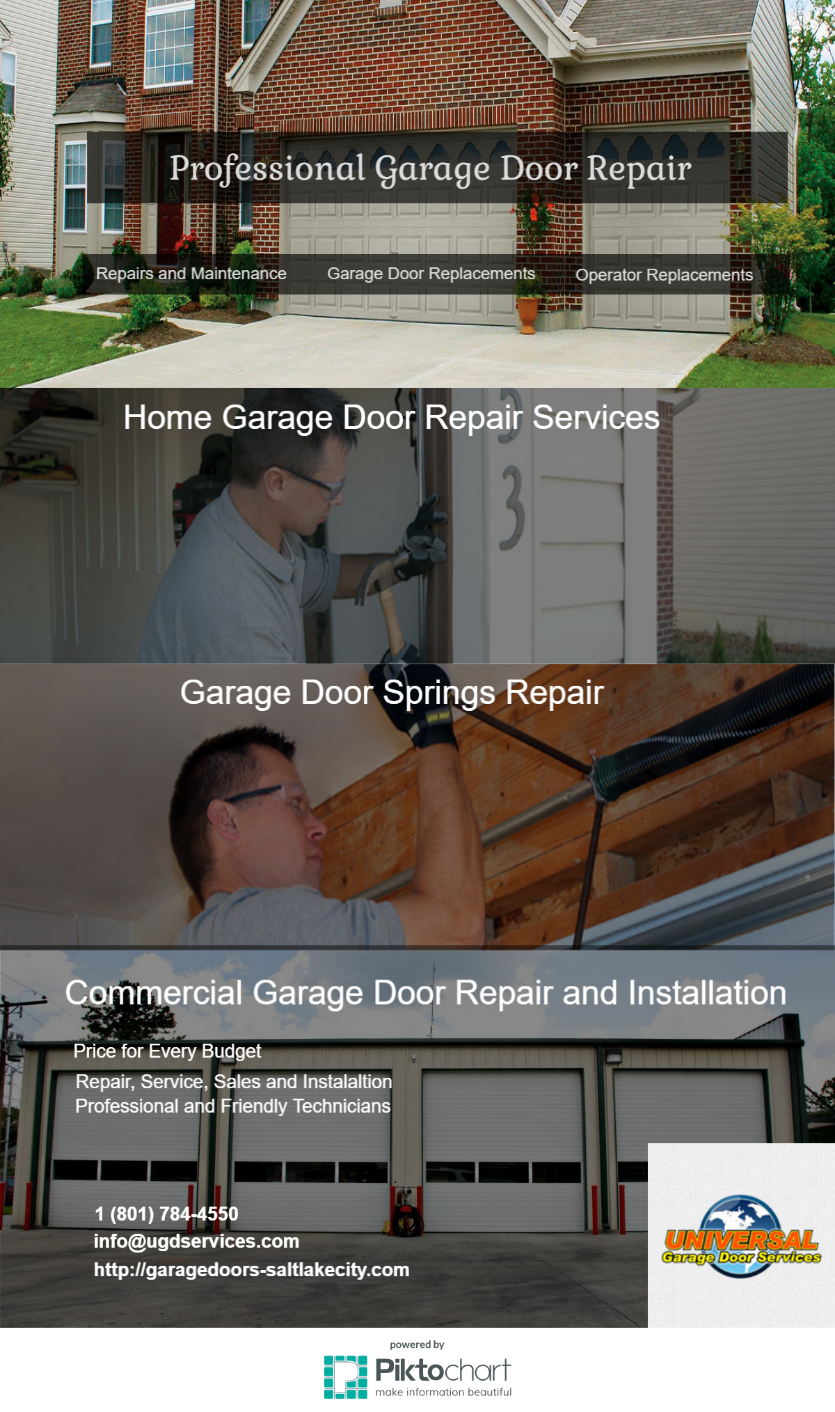 Garage Doors Openers Salt Lake City Utah Services Will Take