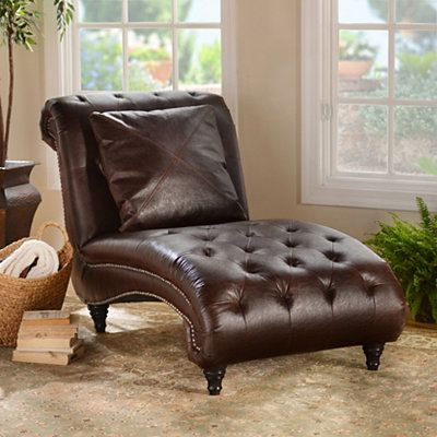 Brown Leather Chaise Lounge Chaise Lounger Kirkland Furniture