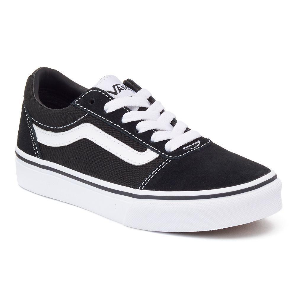 falta pecho enemigo  Vans Ward Low Boys' Skate Shoes, Size: 13, Black   Zapatos vans, Zapatos vans  mujer, Zapatos tumblr