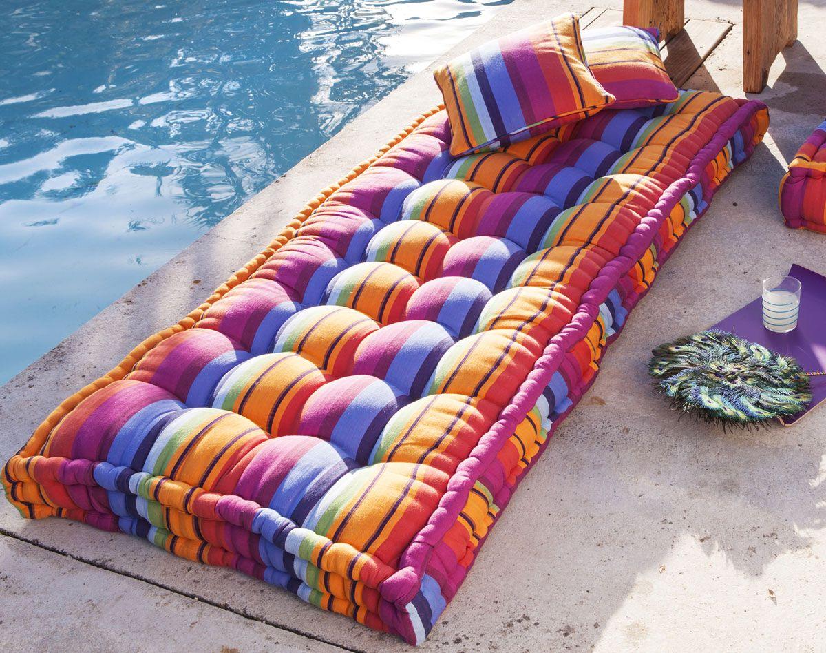 matelas de sol ray accessoires d co ext rieurs pinterest. Black Bedroom Furniture Sets. Home Design Ideas