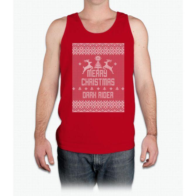Merry Christmas Dark Rider - Mens Tank Top